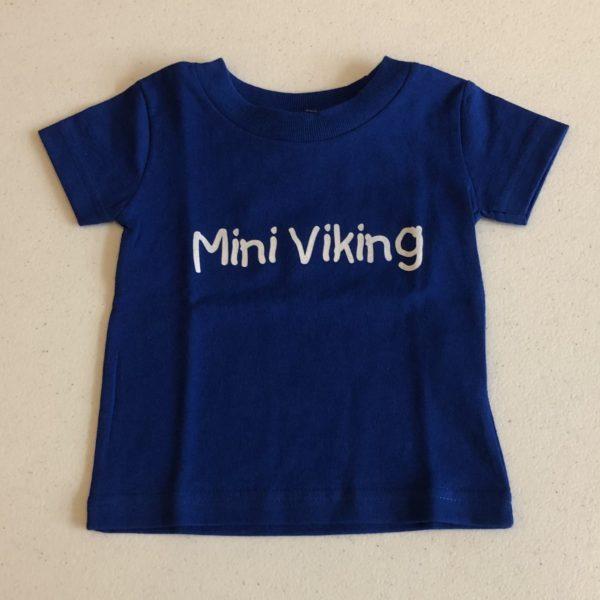 Mini Viking Tee Shirt, Baby, Toddler, Kid