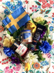 Midsommar Flower Crown and Swedish Food
