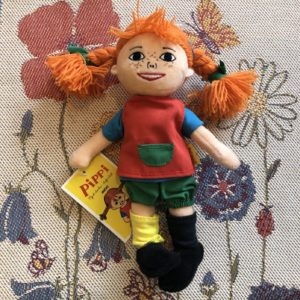 Pippi Longstocking, Pippi, Plush, Doll