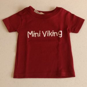 Mini Viking Tee Shirt, Baby, Toddler, Kid