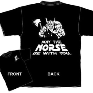 Norse Viking Novelty Tee, Force be With You Pun