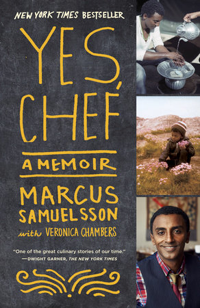 Cover photo of the book Yes, Chef written by Marcus Samuelsson